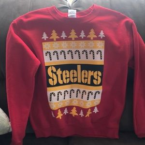 Steelers Christmas Sweatshirt #Ugly Sweatshirt